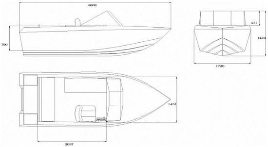 проект и чертежи моторной лодки