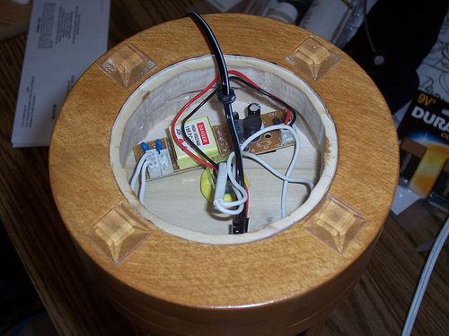 корпус cd лампы