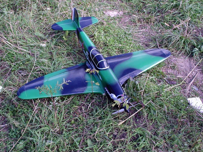 Модель мини самолета своими руками
