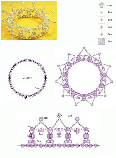 beading crowns for little princess