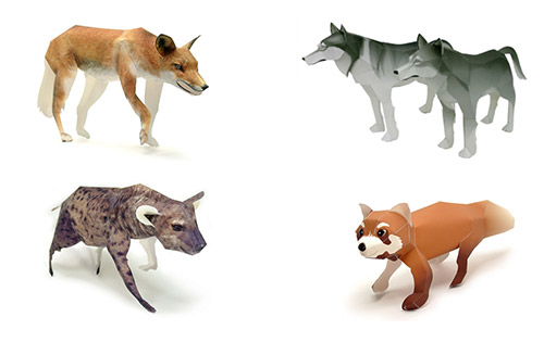 Из чего можно сделать волка