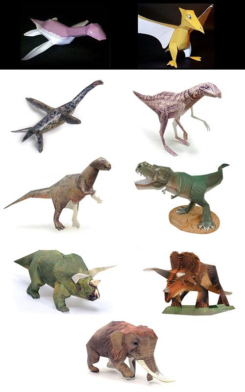 Как сделать динозавра своими руками из бумаги