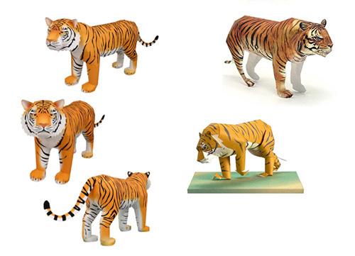 Сделать своими рукам тигра 21